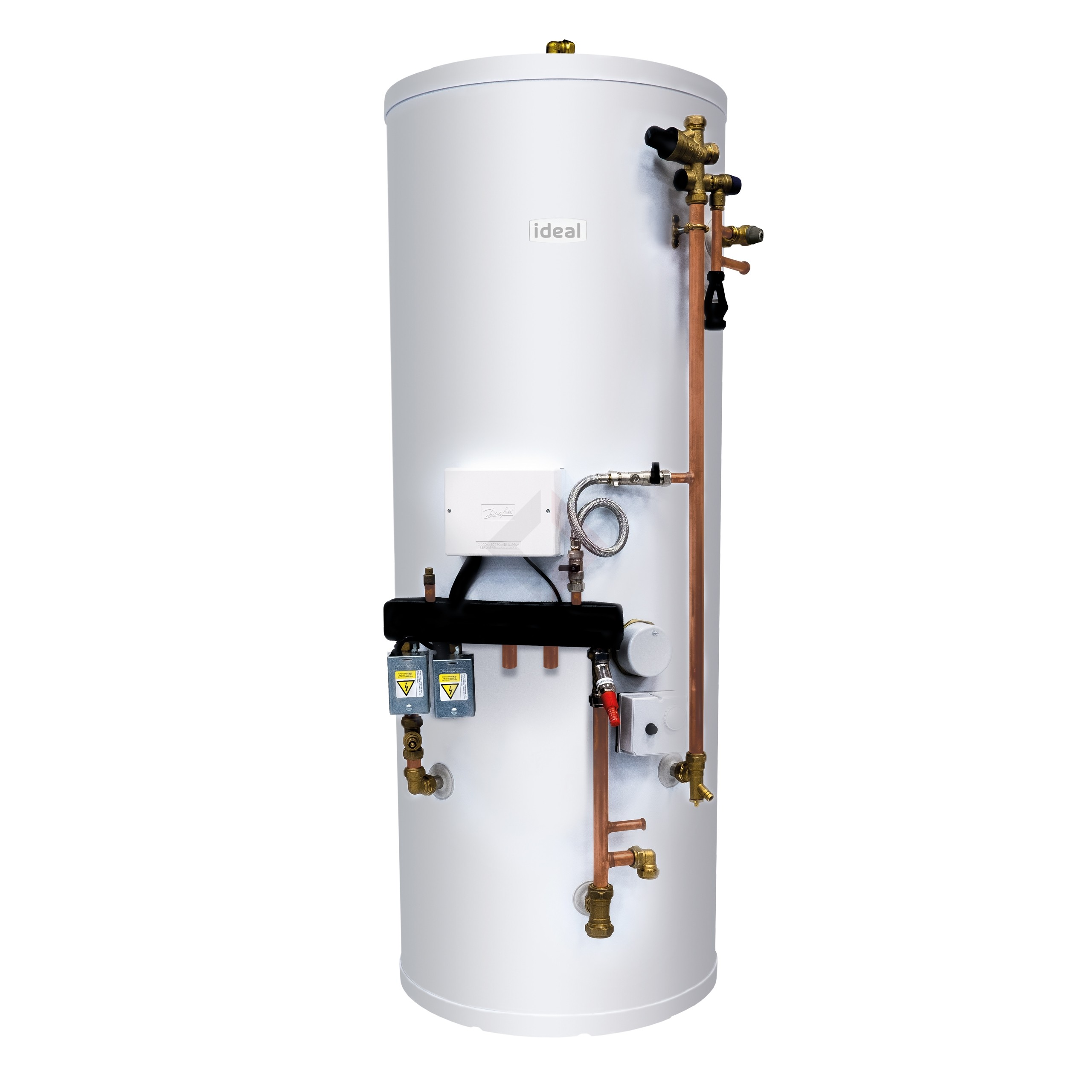 Ideal 210L System Ready Unvented Cylinder, Easy Pack