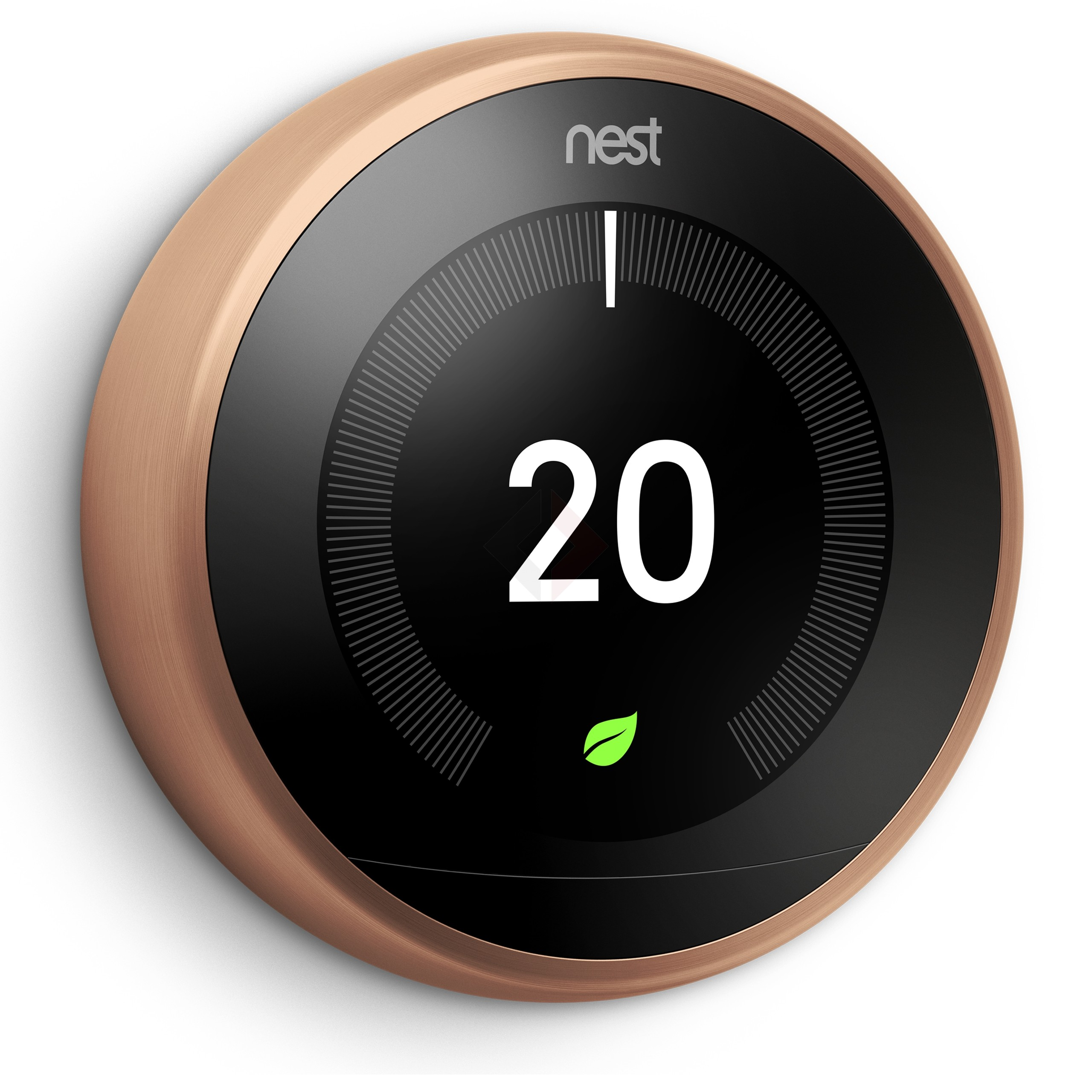 Google Nest Learning Thermostat, 3rd Generation - Copper