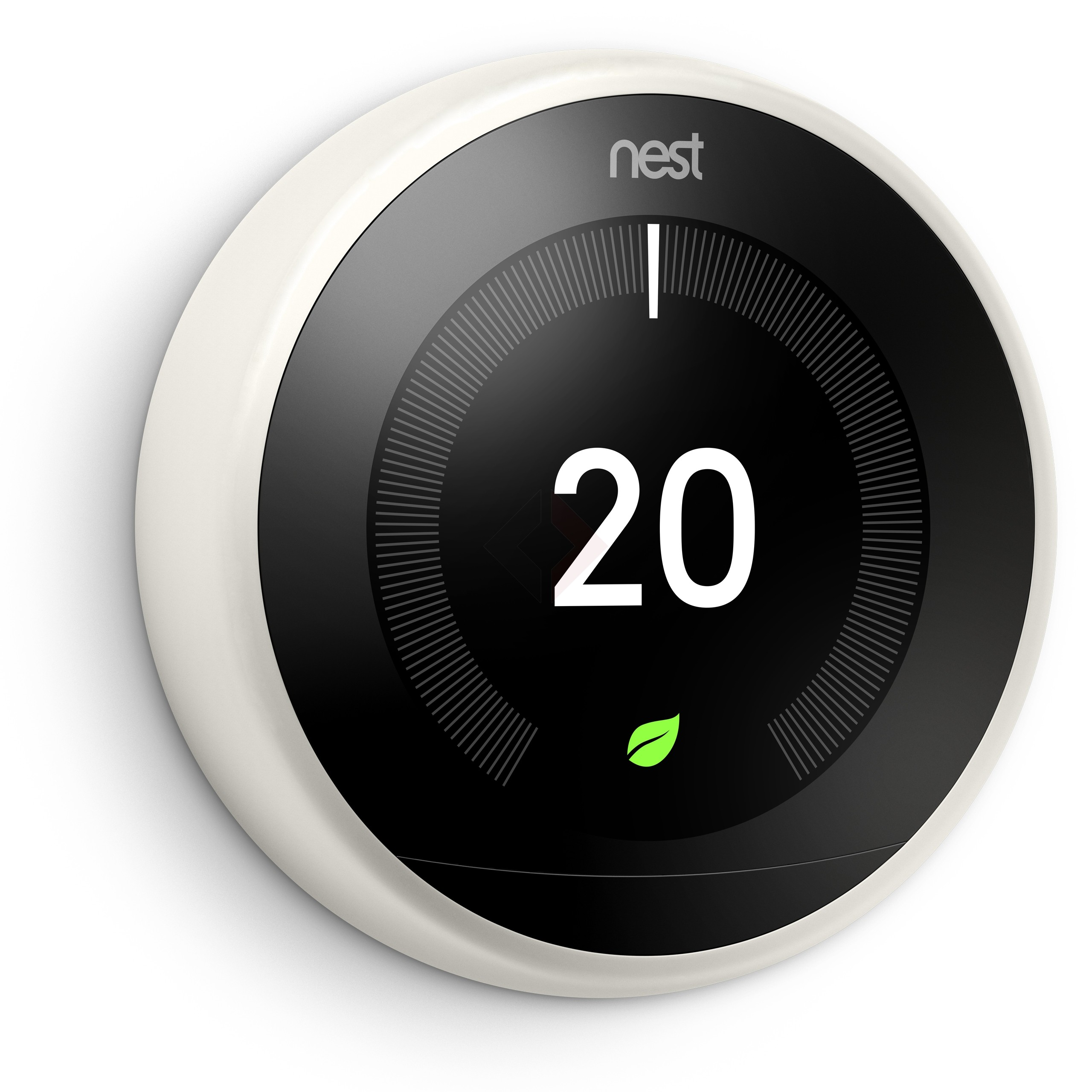 Google Nest Learning Thermostat, 3rd Generation - White