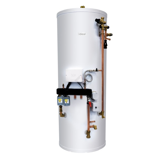 Ideal 250L System Ready Unvented Cylinder, Easy Pack